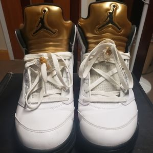 '2016 Air Jordan 5 V Retro 'Olympic' Gold 136027 1